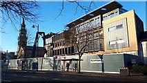 J3372 : Students' Union demolition by David Martin