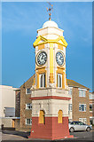 TQ7307 : King Edward VII Memorial Clock Tower by Ian Capper