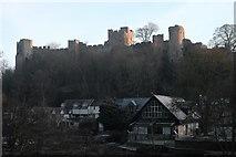 SO5074 : Ludlow castle by John Winder