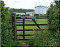 SM8507 : Pembrokeshire Coast Path at the Sandy Haven Caravan & Camping Park by Mat Fascione