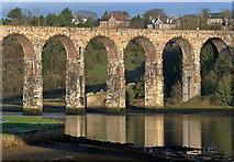 NT9953 : The Royal Border Bridge by Walter Baxter