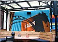 TG2308 : The Lamb Inn - Lacons Brewery mural by Evelyn Simak