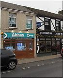 SS7597 : Abbey Residential Agents office in Neath by Jaggery