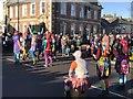 TL2797 : Colourful dancers - Whittlesea Straw Bear festival 2020 by Richard Humphrey