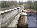 NZ0561 : Bywell Bridge over the River Tyne by Oliver Dixon