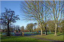 SO9095 : Muchall Park in Penn, Wolverhampton by Roger  Kidd