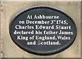 SK1846 : Royal Declaration at Ashbourne by Gerald England