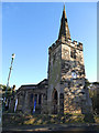 SK5239 : St Leonard, Wollaton - west end by Stephen Craven