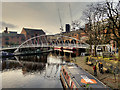 SJ8397 : Merchant's Bridge at Castlefield Basin by David Dixon