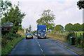 NS3378 : A814 near Cardross Cemetery by David Dixon
