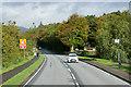 NS3280 : A814, Cardross Road, at Colgrain by David Dixon
