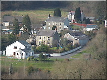 SN4124 : Rhan o Bronwydd Arms / Part of Bronwydd Arms by David Jones