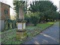 SK5236 : Memorial to Sgt Jowett in Beeston churchyard by Stephen Craven