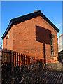 SD3000 : Railway building alongside Hall Road Station, Blundellsands by John S Turner