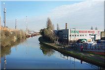 TQ1883 : Grand Union Canal at Alperton by Des Blenkinsopp