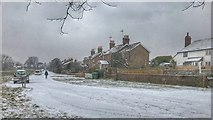 TQ2115 : Wintry scene - Henfield Common, Sussex by Ian Cunliffe