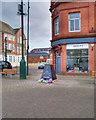 SD7806 : Radcliffe Piazza towards Blackburn Street by David Dixon