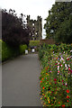 SE6183 : Entrance to Helmsley Castle by habiloid