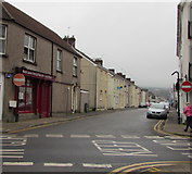 SS7597 : No Entry signs, The Ropewalk, Neath by Jaggery
