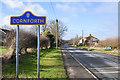 NZ3233 : Stobbs Cross Lane entering West Cornforth by Trevor Littlewood