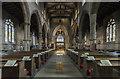 SK3871 : Interior, St Mary & All Saints' church, Chesterfield by J.Hannan