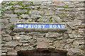 SX9165 : Street name tiles, St Marychurch by Derek Harper
