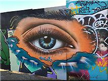 TA1028 : Street art by the River Hull by Paul Harrop