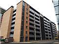 SE2933 : Wellington Place Car Park, Leeds by Stephen Craven
