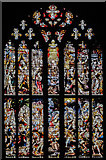 SK3871 : West window, St Mary & All Saints' church, Chesterfield by J. Hannan