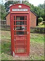TL0300 : K6 Telephone Box at Belsize, Herts by David Hillas