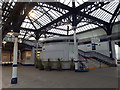 NS7993 : Stirling railway station, detail by Stephen Craven