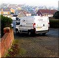 ST3090 : Gas engineers' van, Laurel Crescent, Malpas, Newport by Jaggery