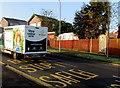 ST3090 : Morrisons home delivery van ascending Rowan Way, Malpas, Newport by Jaggery