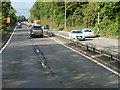 NS4473 : A82, Great Western Road, at Bowling by David Dixon