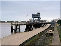 SD3448 : Fleetwood Ferry Terminal by David Dixon