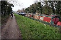 TQ2282 : Grand Union Canal towards Mitre Bridge by Ian S