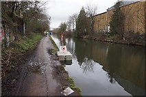 TQ2182 : Grand Union Canal near Old Oak Lane Bridge by Ian S