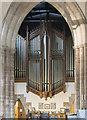 SK3871 : Organ, St Mary & All Saints' church, Chesterfield by Julian P Guffogg