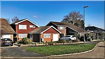 TQ2115 : Henfield, Sussex - houses on Squire Way by Ian Cunliffe