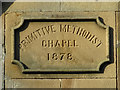 NY8355 : Date stone on the Library by Mike Quinn