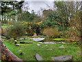 SD3138 : Pool at Devonshire Road Rock Gardens by David Dixon