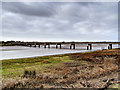 SD3641 : River Wyre, Shard Bridge by David Dixon