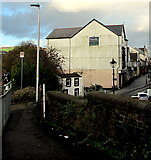 SS7597 : The Parade viewed from Neath railway station by Jaggery