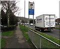ST3091 : Toogood lorry, Malpas Road, Newport by Jaggery