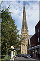 SD3317 : The spire of St George's URC by Bill Boaden