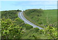 SM7625 : A487 near St Davids by Mat Fascione
