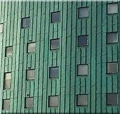 NT2774 : Copper clad building, Abbeyhill by Richard Webb