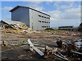 SO7844 : Demolition work on former Qinetiq site - 8 February by Philip Halling