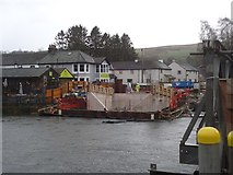 NY4724 : The east (village) end of the new Pooley Bridge by Michael Earnshaw