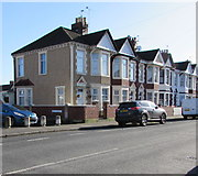 ST3186 : Mendalgief Road houses southeast of Alice Street, Newport by Jaggery
